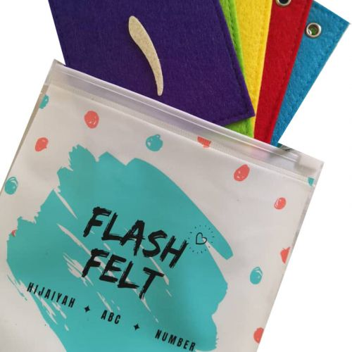 Numbers Arabic  1-10 Flash Card Felt Soft Toys
