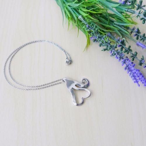 Handmade Fork Necklace