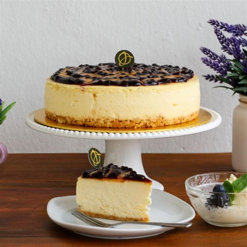 Blueberry & Peanut Butter Cheesecake