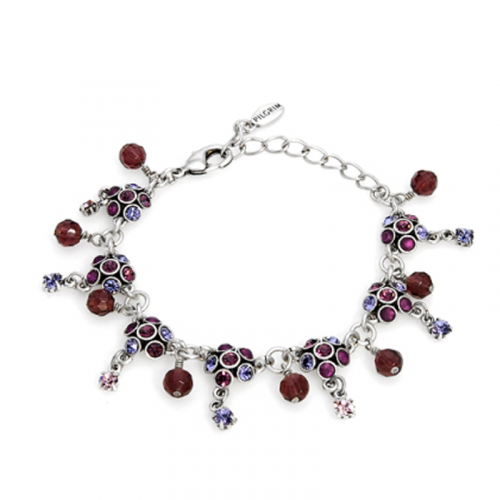 Multicolor and Checkerboard Crystal Bracelet