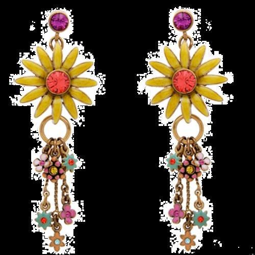 Multicolor Crystal Earring
