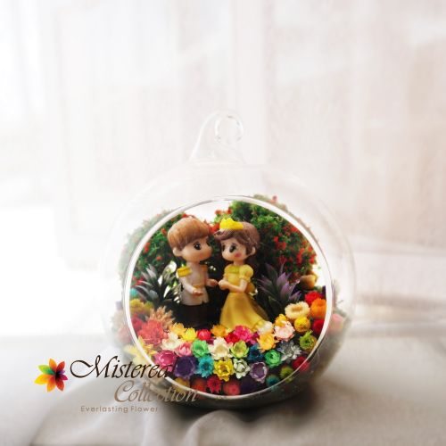 Yellow Dress Princess - Mistereal Preserved Flowers
