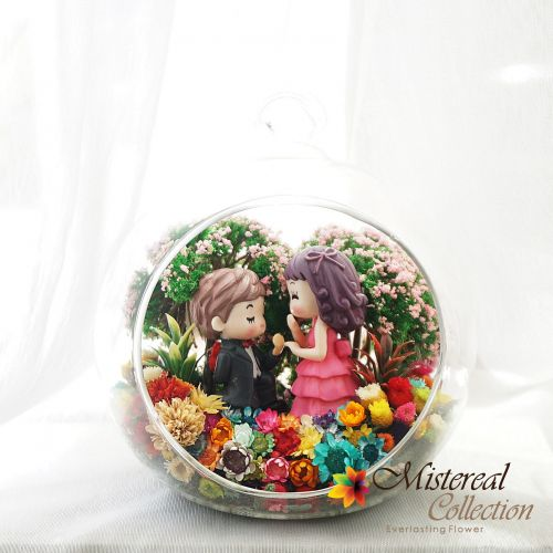 Proposed Couple - Mistereal Preserved Flowers