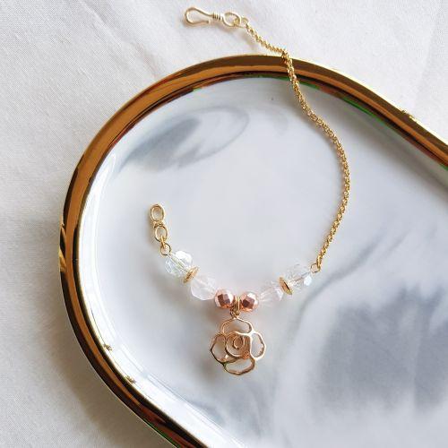 Hollow Rose Bracelet