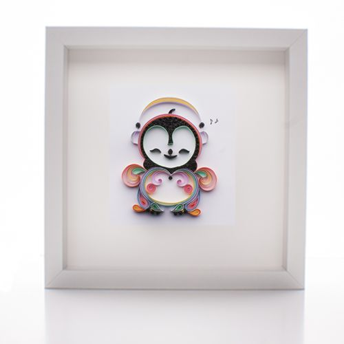 Baby Penguin Paper Quilled