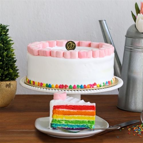 Colours of My Life (Rainbow Cake)