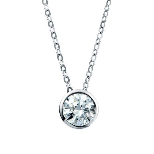 Kelvin Gems Wrap Around Pendant Necklace Made With Swarovski Zirconia