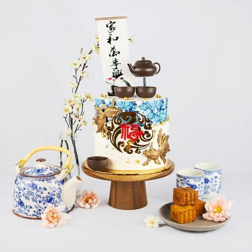 Reunion Designer Cake - Mid-Autumn Mooncake Series 2021