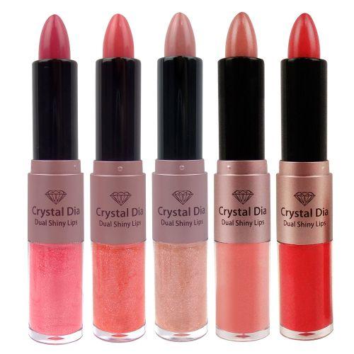 Crystal Dia Dual Shiny Lips
