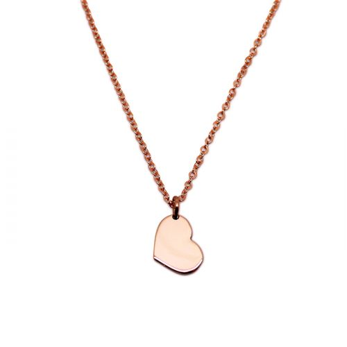 LITTLE HEART 9CT ROSE GOLD NECKLACE