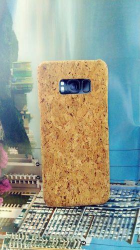 EcoQuote Samsung Galaxy S8 Plus Handmade Phone Case Hard PC Cork Finishing Vegan