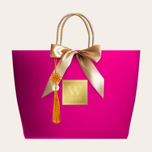 4 PACK SPECIAL (Vegan) | Pink Color Paper Bag