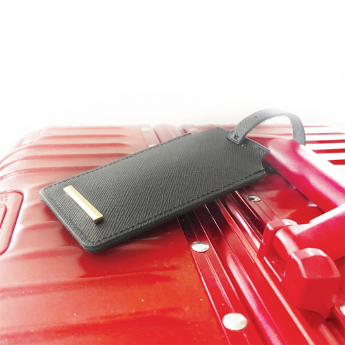 Personalised Genuine Leather Luggage Tag