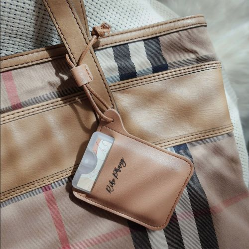 Personalised Leather Pocket Spray Pouch