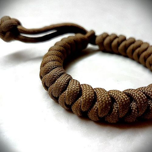 Personalized Snakeknot Paracord Bracelet (without buckle)