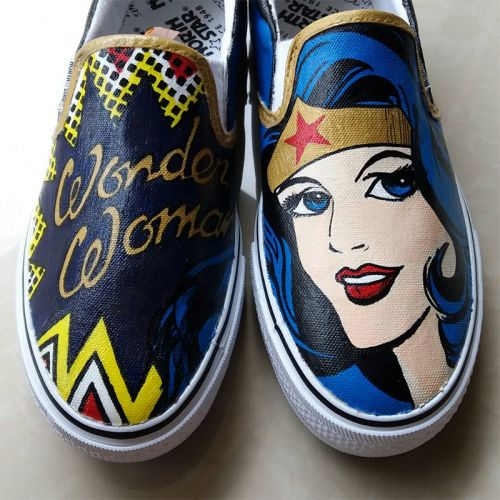 Adults Hand Painted Shoes