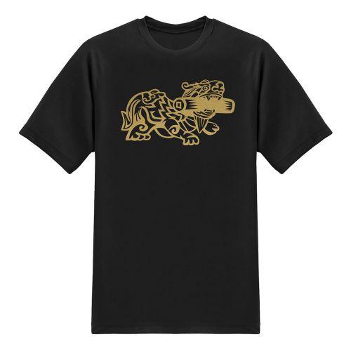 Auspicious Designer Tees - TianLu - Chrome Gold T-shirt