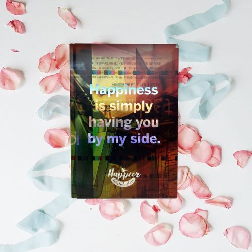 Eco-friendly Holographic Sketchbooks - Happiness