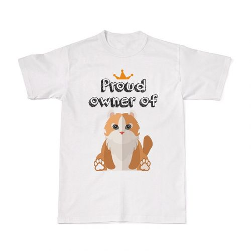Proud Cat Owners Tee - Abyssinian