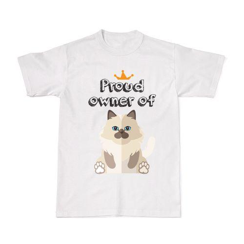 Proud Cat Owners Tee - Birman