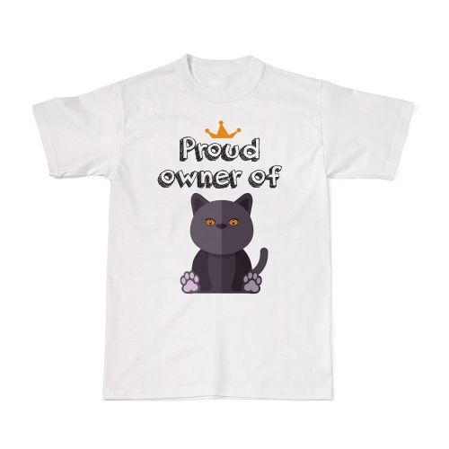 Proud Cat Owners Tee - British