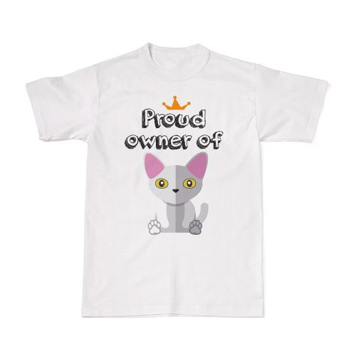 Proud Cat Owners Tee - Devon Rex