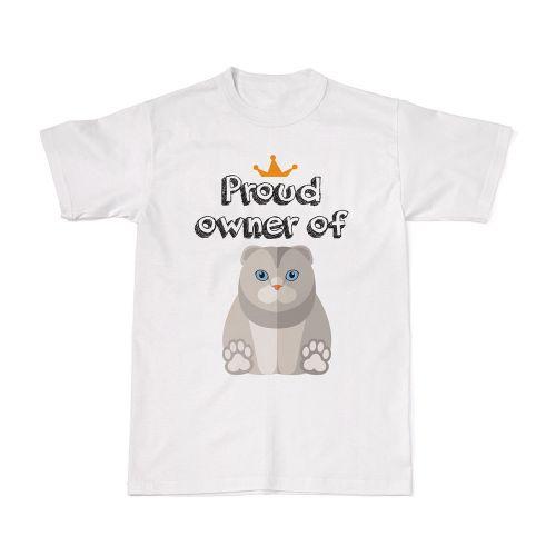 Proud Cat Owners Tee - Scottish Fold