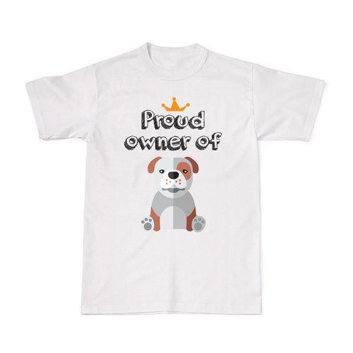 Proud Dog Owners Tee - Bulldog