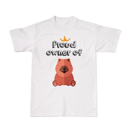 Proud Dog Owners Tee - Chow Chow