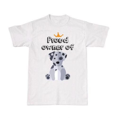 Proud Dog Owners Tee - Dalmatian
