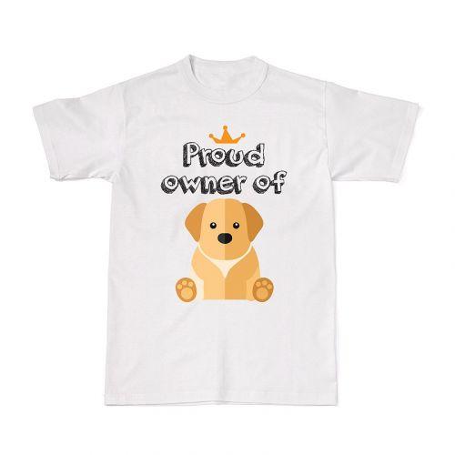 Proud Dog Owners Tee - Golden Retriever