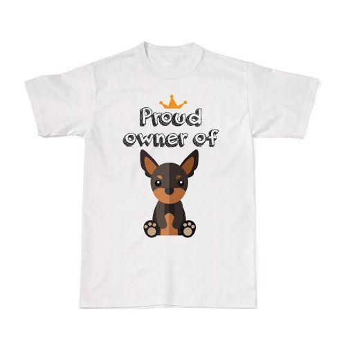 Proud Dog Owners Tee - Miniature Pinscher