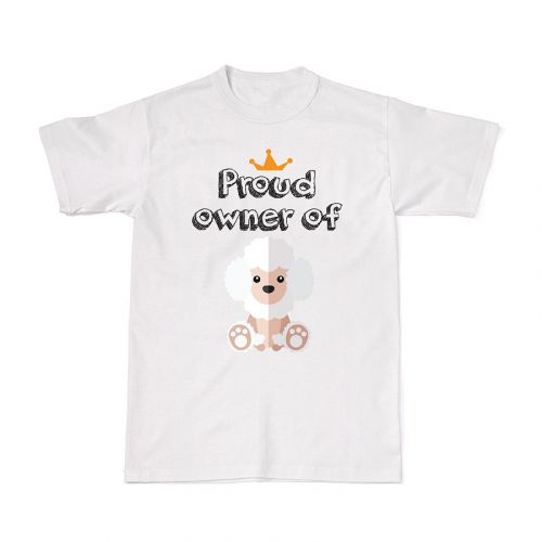 Proud Dog Owners Tee - Poodle