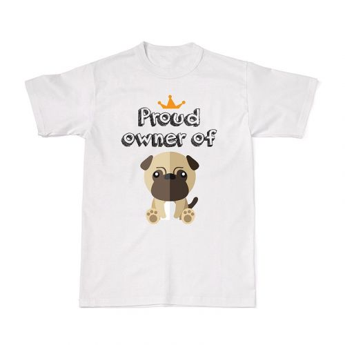 Proud Dog Owners Tee - Pug