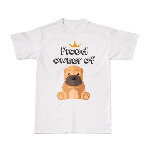 Proud Dog Owners Tee - Sharpei