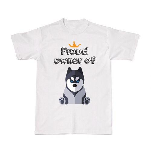 Proud Dog Owners Tee - Siberian Husky