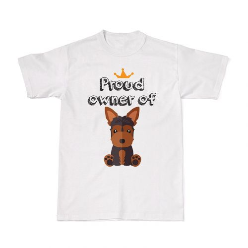Proud Dog Owners Tee - Yorkshire Terrier