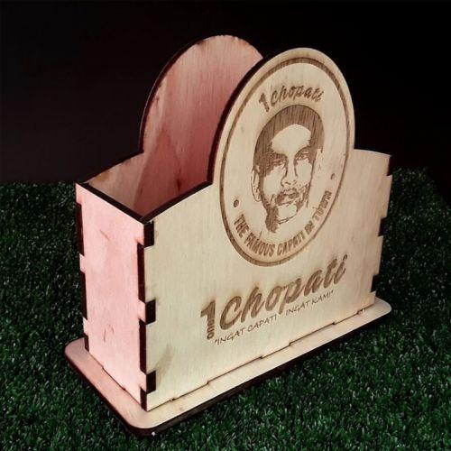 Customised Wooden Tissue Box