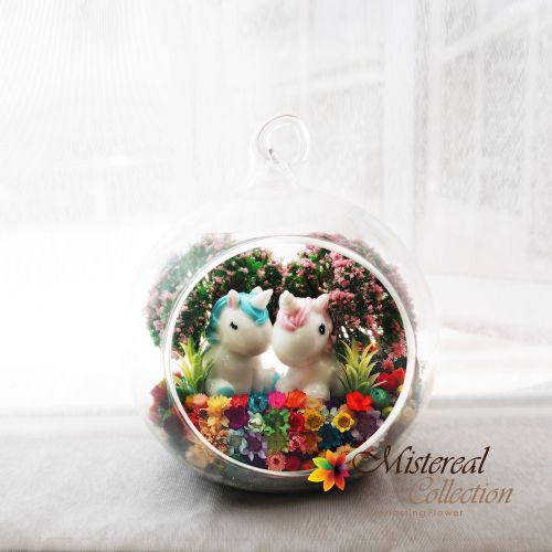 Unicorn- Mistereal Preserved Flowers