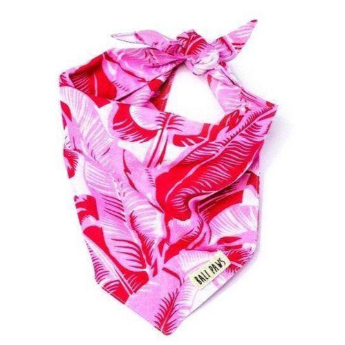 Tropical Pink Pet Bandana