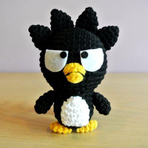 Crochet Badtz-Maru Amigurumi