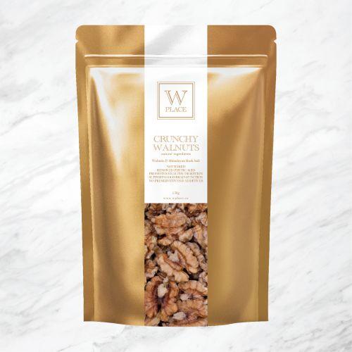 CRUNCHY WALNUTS . NOT BAKED (Vegan)   150g