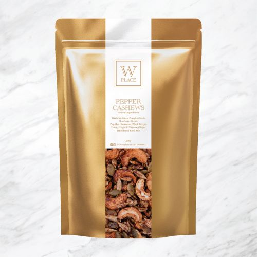 PEPPER CASHEWS | 200g