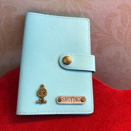 Personalized Passport Cover with Clip