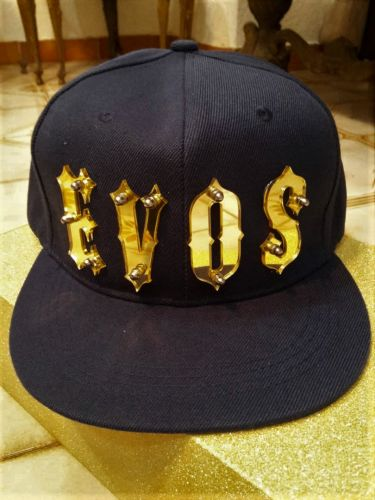 GOLD SPIKE Name on Snapback Cap ( Adult)