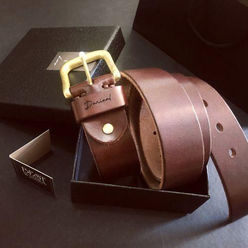 Personalised Leather Stylish Men's Belt
