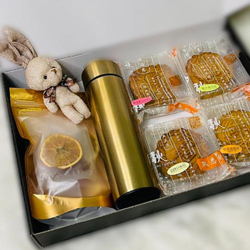 "Mooncake Festival 2021: I ""Miss U"" Personalised Mooncakes Gift Set - (Nationwide Delivery)"
