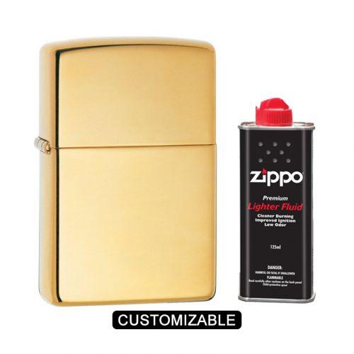 Zippo 169 Armor High Polish Brass Lighter