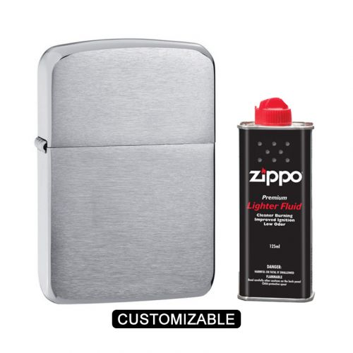 Zippo 1941 Replica Brushed Chrome Lighter