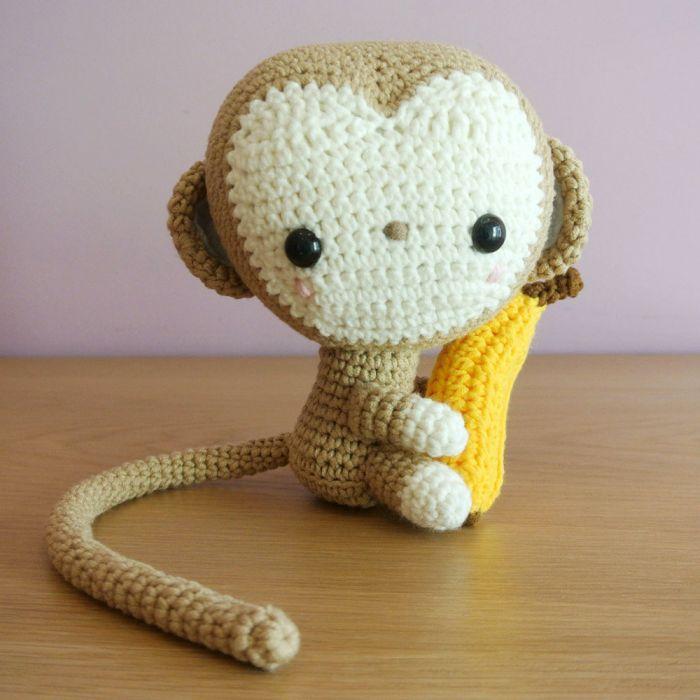 Free Monkey Amigurumi Crochet Patterns   700x700